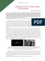 Santiago - Dialogos Sobre a Autoridade Documental