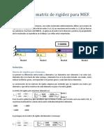 Ejemplo de Matriz de Rigidez Para MEF (2)