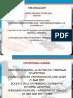Programa Procedimiento Tributario