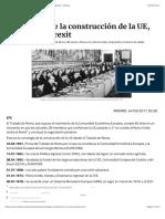 Cronología de la construcción de la UE, de Roma al Brexit | Público