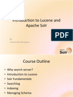 Introduction to Lucene and Apache Solr
