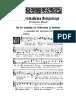 KYRIALE notación mixta