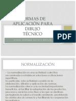 Normas de Aplicación Para Dibujo Angel Enrique Batista Bravo