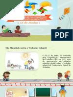 slide campanha erradicação do trabalho infantil
