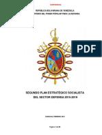 2do Plan Estrategico Socialista Sector Defensa