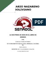 LA DOCTRINA DE DIOS EN EL LIBRO DE GENESIS.docx