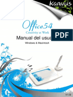 Office 54 Manual de Usuario