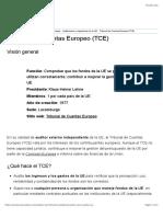European Court of Auditors (ECA)   Unión Europea
