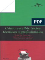 Cómo escribir textos técnicos y profesionales.pdf