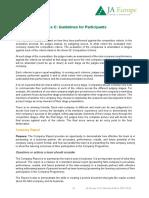 Annex C Guidelines Participants