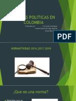 Normas Politicas en Colombia (1)