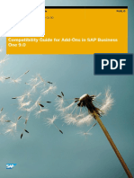 Compatibility Guide for Add-Ons in SAP Business One 9.0
