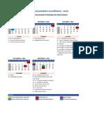 Calendario Academico20192