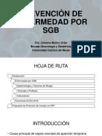 Prevención Enfermedad por SGB - Dra. Muñoz.pptx