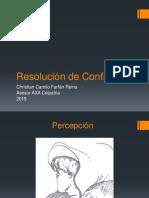 Capacitación Resolución de Conflictos