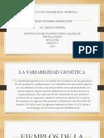 Ejemplos de Variabilidad Genética