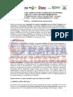 Edital - 1º Seminário de Economia Solidária da Costa do Descobrimento - final