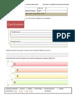 portfolio in curriculum