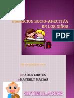 Dimencion Socio-Afectiva en Los Niños