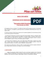20161009 Misa Ninos