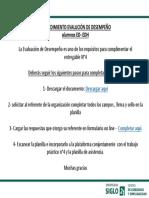 Evaluación de Desempeño - Competencias Práctica Profesional