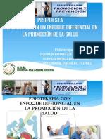 fisioterapia con enfoque diferencial en promocion de la salud