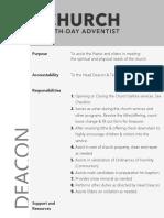 Deacon Role Description
