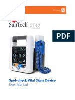 SunTech CT40 Manual