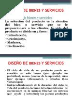 Diseño Del Producto Servicio