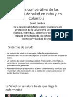 Analisis Comparativo de Los Sistemas de Salud en Colombia y Cuba