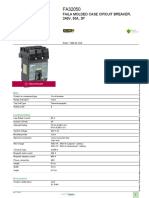 FA_ FH_ FJ_ FK_ FY (F-frame) Molded Case Circuit Breakers and Switches_FA32050