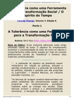 A EDUCAÇÃO COMO FERRAMENTA DE TRANSFORMAÇÃO SOCIAL.