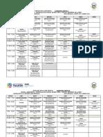 Horarios Grupo Agosto 2019 - Enero 2020