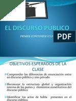 El Discurso Público 2012