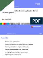 Best Practice to Update WebSphere