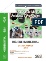 Dossier Higiene Industrial 2013