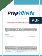 IGNOU Political Science Material - Political Ideas and Ideologies Www Prep4civils Com