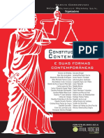 Constitucionalismo Contemporaneo e Suas Formas Contemporneas