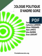 Fondation de l'Écologie Politique _  L'Écologie Politique d'André Gorz