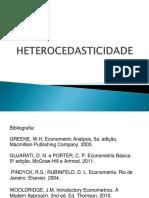heterocedasticidade
