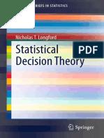 Statistical Decision Theory - Nicholas T. Longford