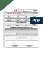 Formato de Inspección Maquinas NA-111