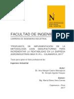 PROPUESTA DE IMPLEMENTACION DE FILOSOFIA LEAN