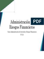 Administración de Portafolios de Inversiones Parte I