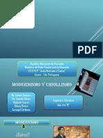 Modernismo y Criollismo