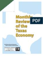 Texas Economic Update October 10