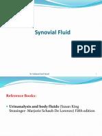 13- Synovial Fluid