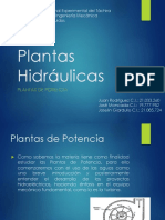 Equipo 1. Plantas Hidráulicas 1era. Parte