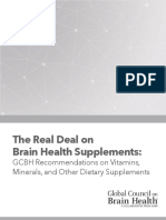 Gcbh Supplements Report