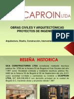 Presentacion Ocaproin Ltda